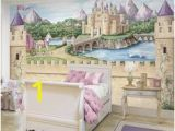 Fairy Castle Wall Mural 32 Best Princess Mural Images