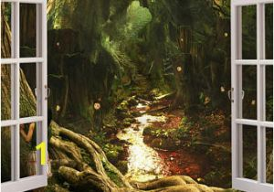 Fairy forest Wall Murals forest Wall Decals