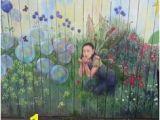 Fairy Garden Mural 43 Best Fence Murals Images