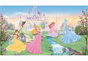 Fairy Princess Wall Mural Disney Dancing Princesses Prepasted Accent Wall Mural