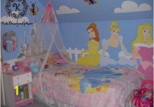 Fairy Princess Wall Mural Disney Princess Wall Mural Custom Design Hand Paint Girls