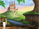 Fairy Princess Wall Mural Fantasy Castle Wallpaper Mural Youth Ministry