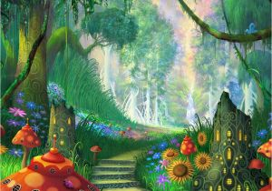 Fairy Wall Murals Uk Fantasy Garden