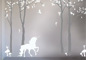 Fairy Wall Murals Uk Magical Unicorn Wall Sticker