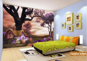 Fairytale Wall Murals Custom Kids Children Fairy Tale Wallpaper Mural Magic Cottage In