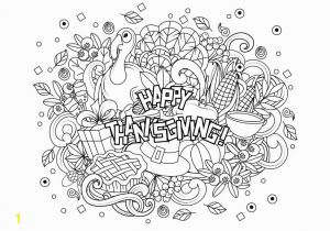 Fall Coloring Pages for Adults Pdf Free Thanksgiving Coloring Pages for Kids