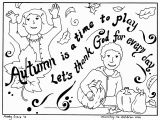 Fall Coloring Pages for Children S Church Fall Coloring Page