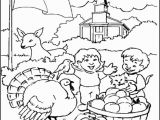 Fall Coloring Pages for Children S Church Give Thanks Color Sheet
