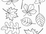 Fall Leaves Coloring Pages Printable Fall Coloring Pages for Young Children Free Instant Download