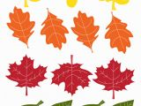 Fall Leaves Coloring Pages Printable Fall Leaf Garland