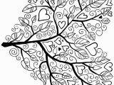 Fall Tree Coloring Page Tree Coloring Page 5 Patrones Para Bordar Pinterest