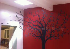 Family Tree Wall Mural Stencils Family Tree Wall Art Mural Handpainted