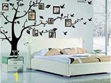 Family Tree Wall Mural Stencils Family Tree Wall Decal Peel & Stick Vinyl Sheet Easy to Install & Apply History Decor Mural for Home Bedroom Stencil Decoration Diy