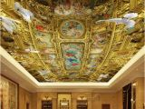 Famous Ceiling Murals Euporean Wall Mural Wallpaper 3d Ceiling Hd Luxury Palace