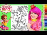 Fancy Nancy Coloring Pages Disney Coloring sofia the First Christmas Coloring Book Page