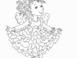 Fancy Nancy Coloring Pages to Print Fancy Nancy Curtseying Coloring Page