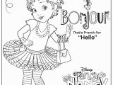 Fancy Nancy Disney Junior Coloring Pages Coloring Book Coloring Style Pretty Bird In Fancy Flowers