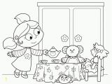 Fancy Nancy Tea Party Coloring Pages Free Fancy Nancy Tea Party Coloring Pages Download Free