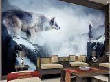 Fantasy Art Wall Murals Fantasy Ice World Wolf Wallpaper Animal Wallpaper Custom 3d Giant Wall Mural Room Decor Wall Art Bedroom Kid S Room Home Decoration Canada 2019
