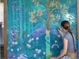 Fantasy Art Wall Murals Maybe Make A Narnia Inspired Mural for the Boys Room In A
