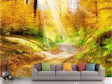Fantasy forest Wall Mural Großhandel Tapete Weiß Fantasy forest 3d Landschaft Tv Hintergrund Wand Holz Wandpapier Von Chinamural2015 $28 15 Auf De Dhgate