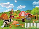 Farm Animal Wall Murals Fototapete Farm Bauernhof 1845 Cm X 50 Cm 7 Tlg Hazelwood