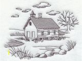 Farm House Coloring Pages Machine Embroidery Designs at Embroidery Library Color