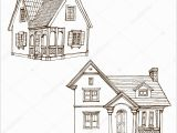 Farm House Coloring Pages Victorian House Coloring Page