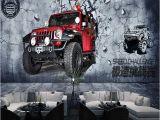 Fast and Furious Wall Mural Niestandardowe 3d Mural Tapety Rocznika Motocykla Samoch³d Fast and