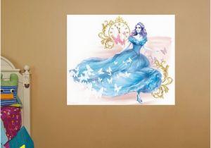 Fathead Wall Murals Cinderella Movie Mural Real Big Fathead – Peel & Stick Wall Graphic
