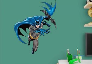 Fathead Wall Murals Fathead Batman In Action Junior Wall Decal 15
