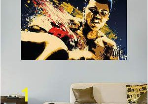 Fathead Wall Murals Muhammad Ali Stung Illustration Mural Fathead Wall Decal