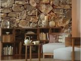 Faux Wood Wall Mural Stone Wall Mural by Brewster Home Fashions On Hautelook