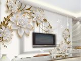 Feature Wall Wallpaper Murals Aliexpress Buy Beibehang Wallpaper Murals Simple 3d Space