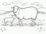 Feed My Sheep Coloring Page Free Printable Sheep Coloring Pages for Kids