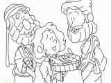 Feeding Of the 5000 Coloring Page Jesus Feeds 5 000 Coloring Page