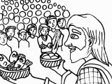 Feeding Of the 5000 Coloring Page Ldsfiles Clipart Jesus Feeds 5000 Coloring Page
