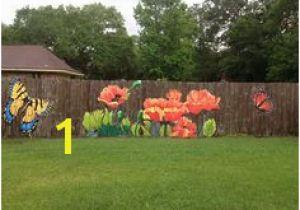 Fence Murals Ideas 156 Best Painted Fences Images