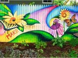 Fence Murals Ideas 40 Creative Garden Fence Decoration Ideas Fence