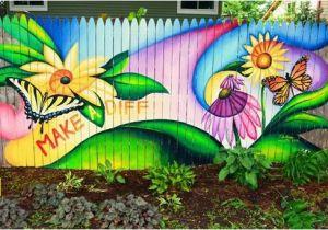 Fence Murals Ideas 40 Creative Garden Fence Decoration Ideas Fence