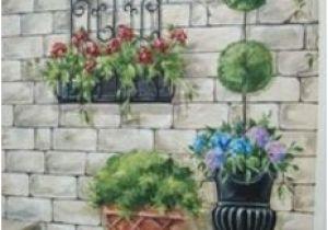 Fence Murals Ideas Secret Garden Mural Painted Fences Pinterest