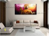 Feng Shui Wall Murals Wall Art Feng Shui original Abstract Buddha Oil Painting Zen