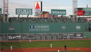 Fenway Park Green Monster Wall Mural Fenway Park Green Monster Citgo Sign Boston