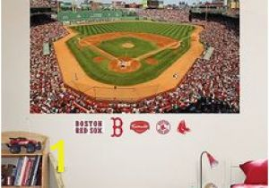 Fenway Park Wall Mural 11 Best Red sox Room Images