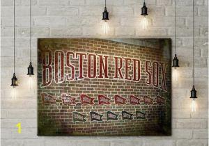 Fenway Park Wall Mural Fenway Park Championship Flag Wall Mural Boston Red sox Wall