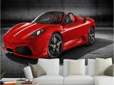 Ferrari Wall Mural 3d Photo Wallpaper Custom 3d Wall Murals Wallpaper Cool Modern