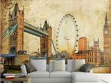 Ferris Wheel Wall Mural Abstract Wall Murals Painted Wall Digital La S and
