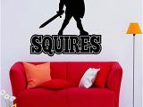 Field Hockey Wall Murals Amazon Squires Wall Sticker Knight Vinyl Decal