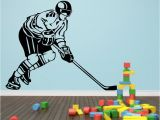 Field Hockey Wall Murals Decor Kafe Ice Hockey Wall Decal Small