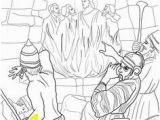 Fiery Furnace Coloring Page Print 52 Best Book Of Daniel Coloring Pages Images